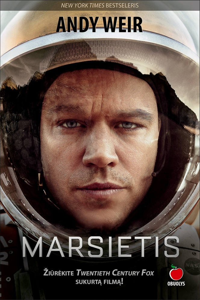 Andy Weir. Marsietis.